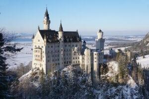Mit dem Wohnmobil zum Schloss Neuschwanstein