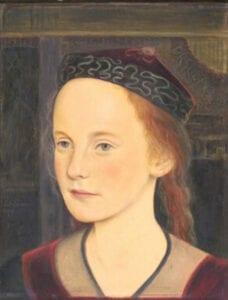 Ursula Dethleffs - Tochter von Fridel Dethleffs-Edelmann und Arist