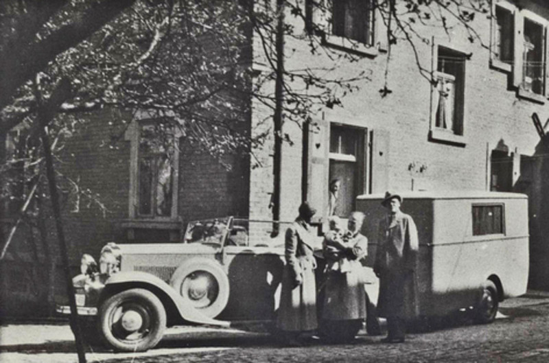 Juli 2016: Die 1. Reise der Familie Dethleffs mit Ihrem Wohnauto im Jahr 1934