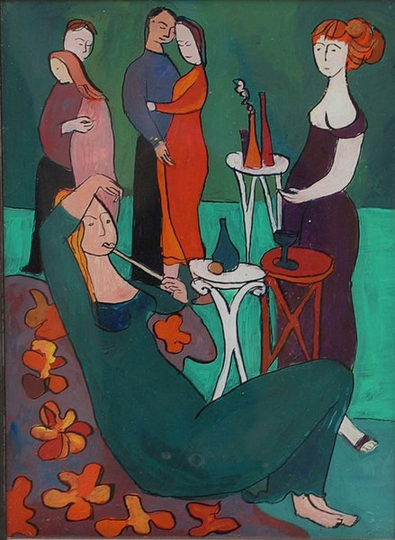 Kunstgalerie Dethleffs: Das Herbstfest von Ursula Dethleffs