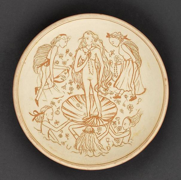 Ausstellung im Dezember 2016: Ursula Dethleffs: Himmlisches - Kostbare Keramik