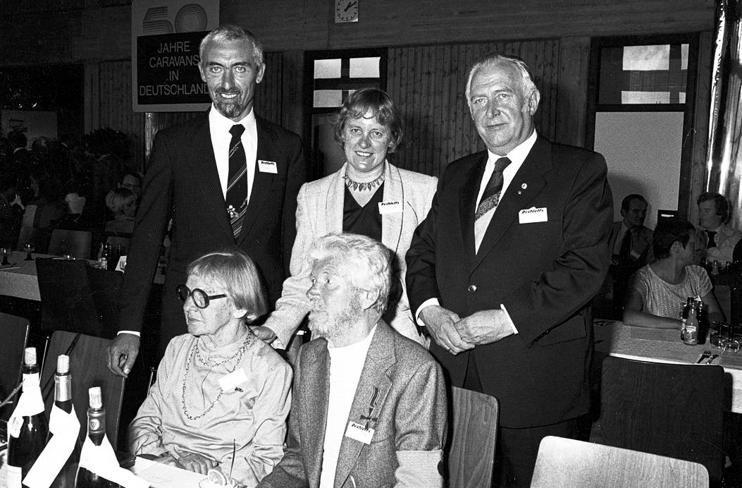 Arist Dethleffs erhält das Bundesverdienstkreuz zum 50. Jubiläum