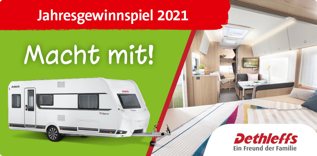 Dethleffs Kooperation mit Ravensburger Spieleland 2021
