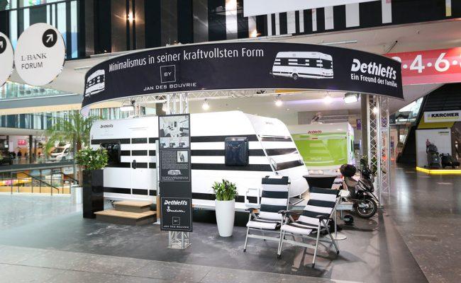 Dethleffs international: Wohnwagen von Star-Designer Jan des Bouvrie