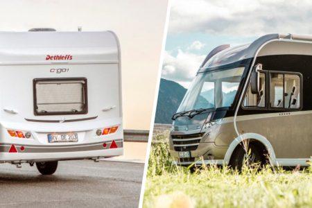 Unterschied Wohnmobil Wohnwagen erklärt im Dethleffs Blog