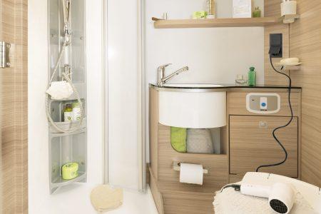 Frischwasseranlage reinigen im Dethleffs Wohnmobil oder Wohnwagen